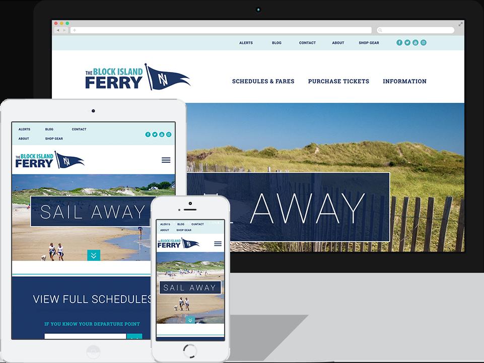 Block Island Ferry | Matt Salvadore - RI based Web Developer